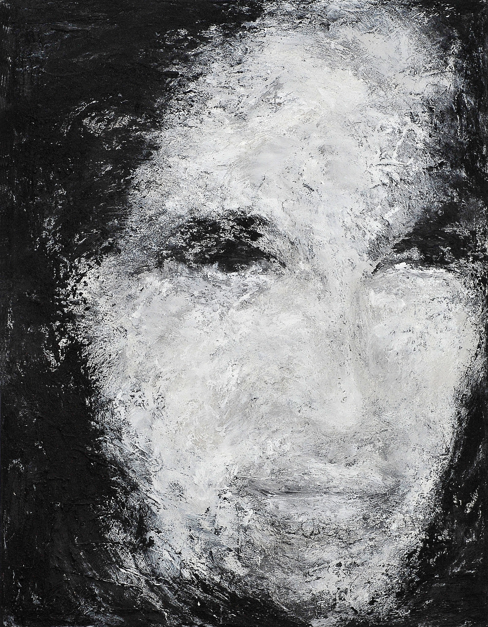 o. T., 2004, Mischtechnik auf Leinwand, 180 x 140 cm