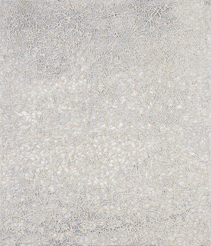 O. T., 2009, Mischtechnik auf Leinwand, 60 x 40 cm