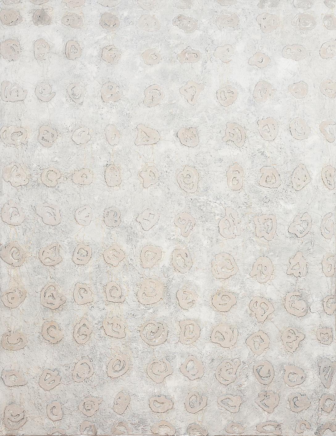 O. T., 2009, Mischtechnik auf Leinwand, 180 x 140 cm