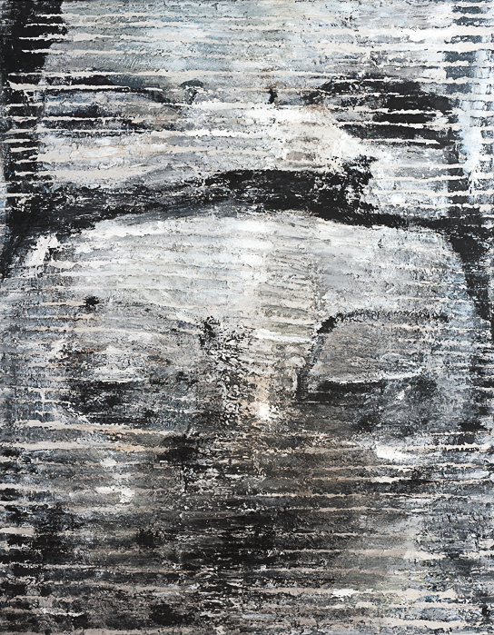 O.T., 2014, Mischtechnik auf Leinwand, 250 x 210 cm