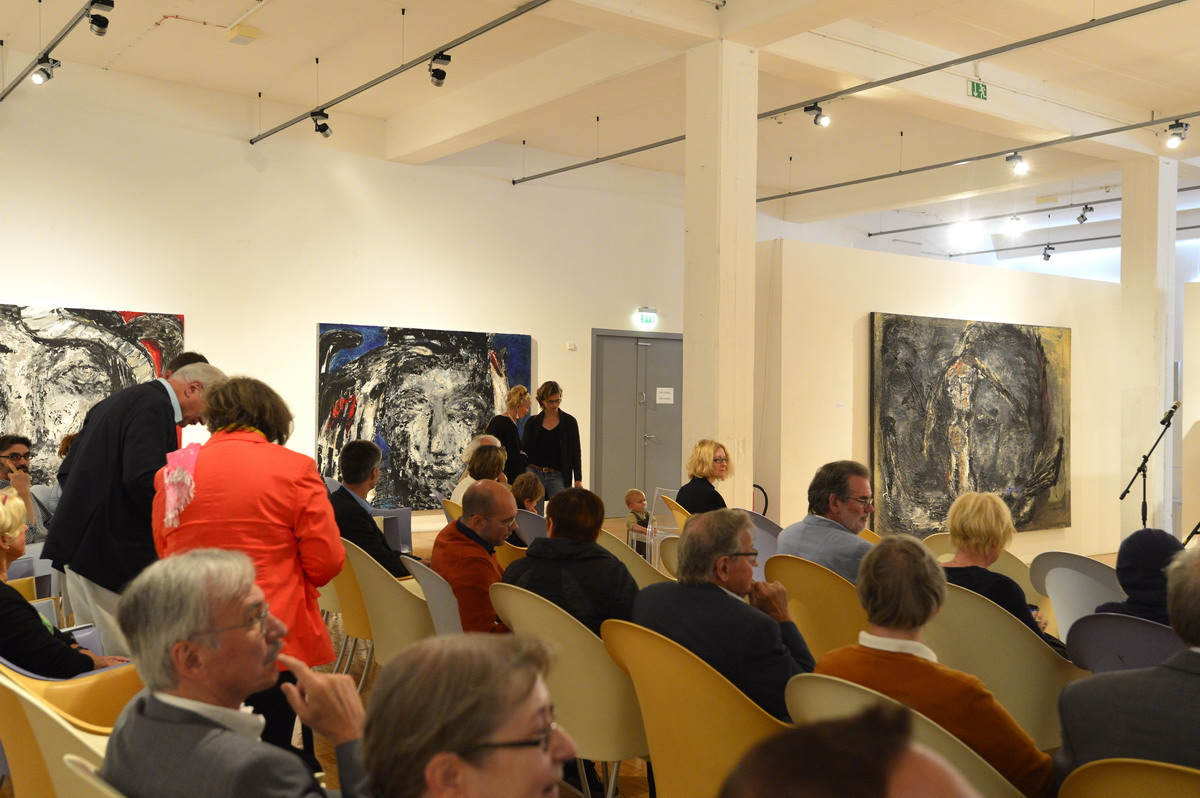 Vernissage PAN_Forum, Emmerich 2014