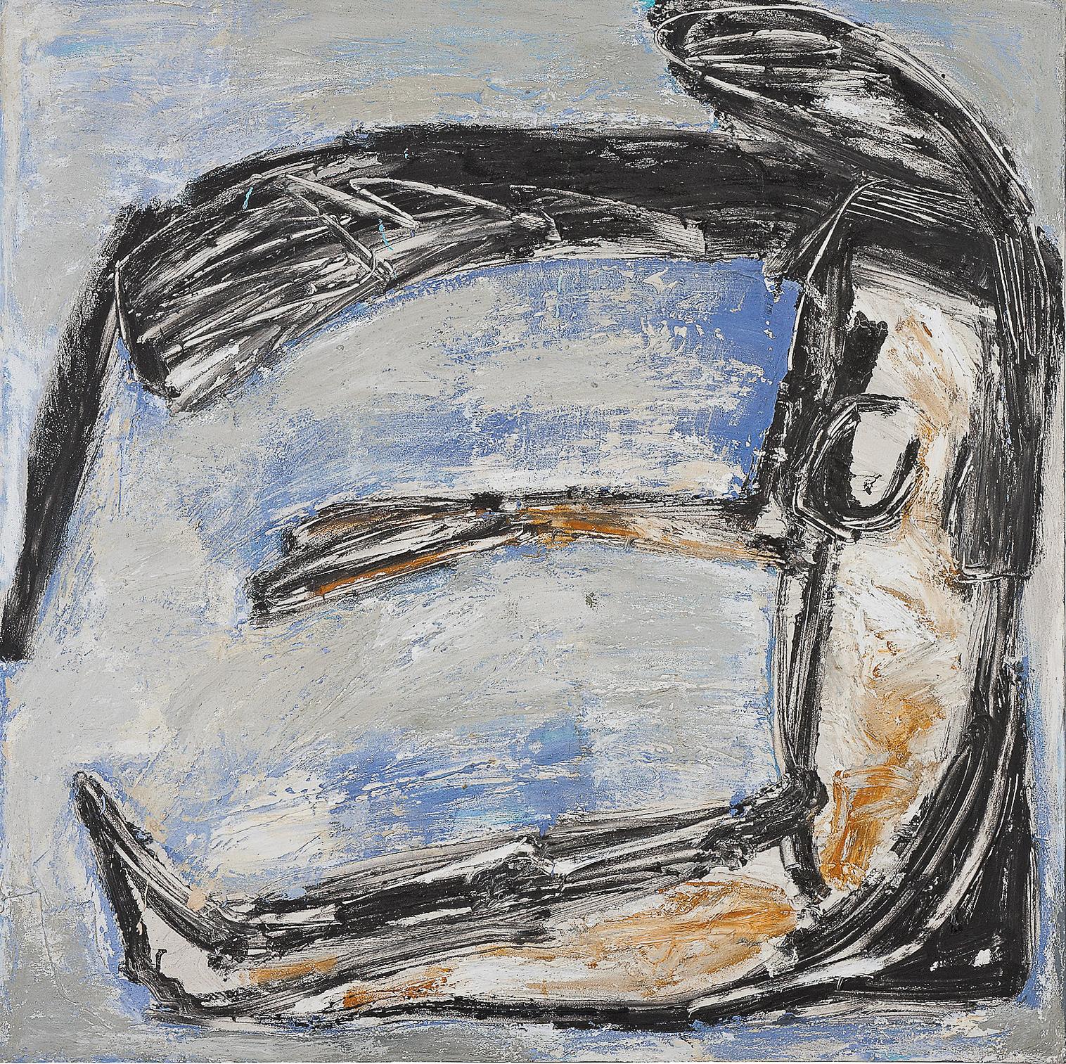 O.T., 2005, Mischtechnik auf Leinwand, 120 x 120 cm