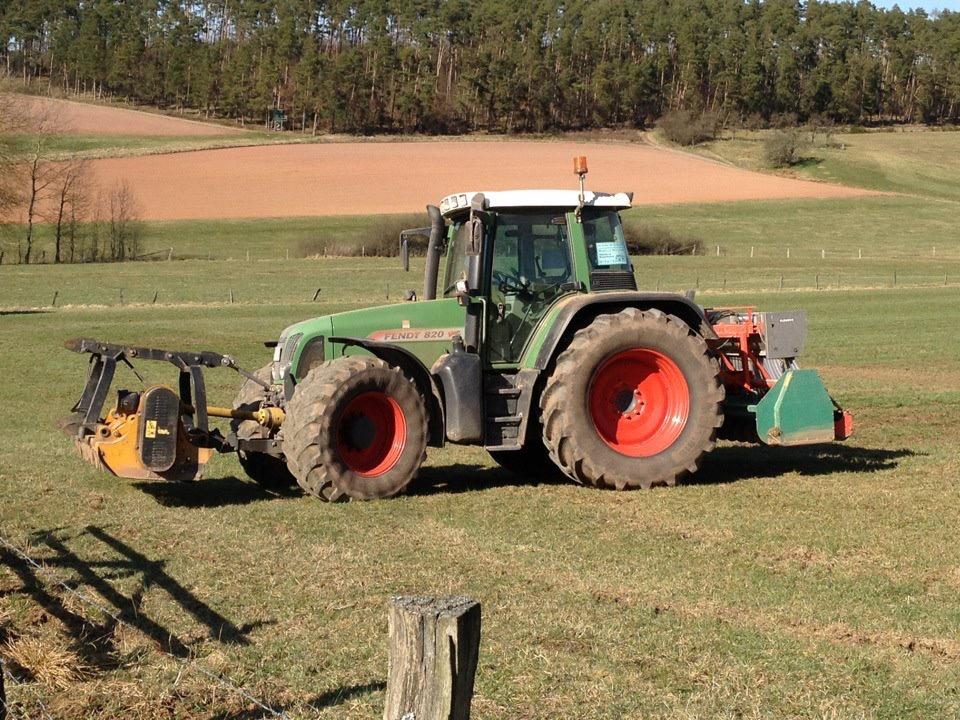 Beseitigung von Schwarzwildschäden auf Grünland