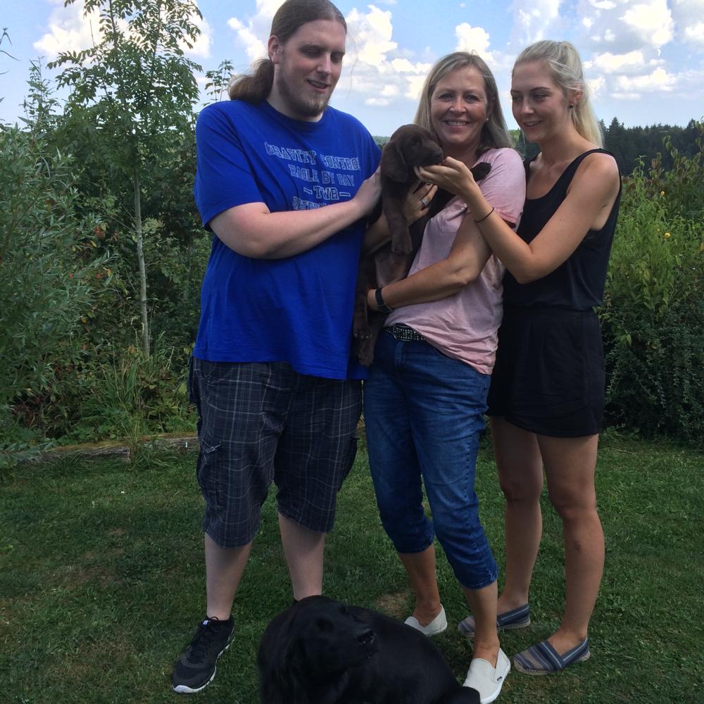 💞heute ist unsere dicke Dolly nach Meckenheim gezogen💞ab heute heißt sie Molly 💞26.08.2016