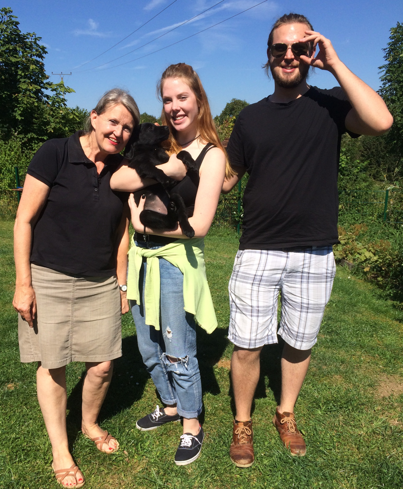 26.08.2016 Diary ist gerade nach Kelkheim gezogen und wird mit ihrem neuen Namen Sunny , ihre neue Familie auf trab halten