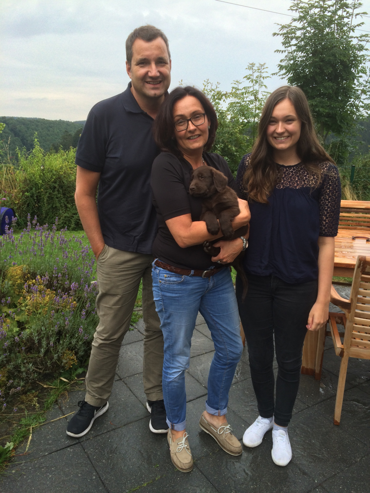 18.08.2016❤️Miro ist heute zu seiner neuen Familie nach Hamm gezogen❤️
