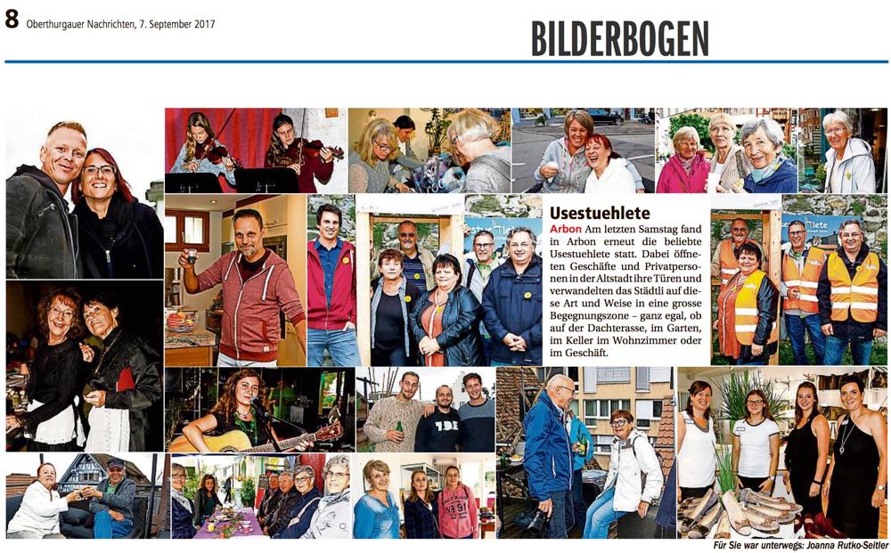 Oberthurgauer Nachrichten, Bodensee Nachrichten, 07.09.2017