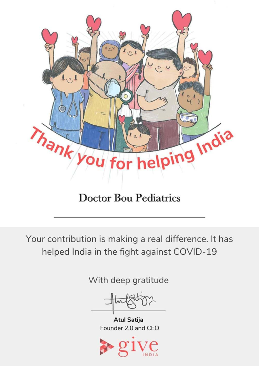 DBP Supports GiveIndia COVID Relief