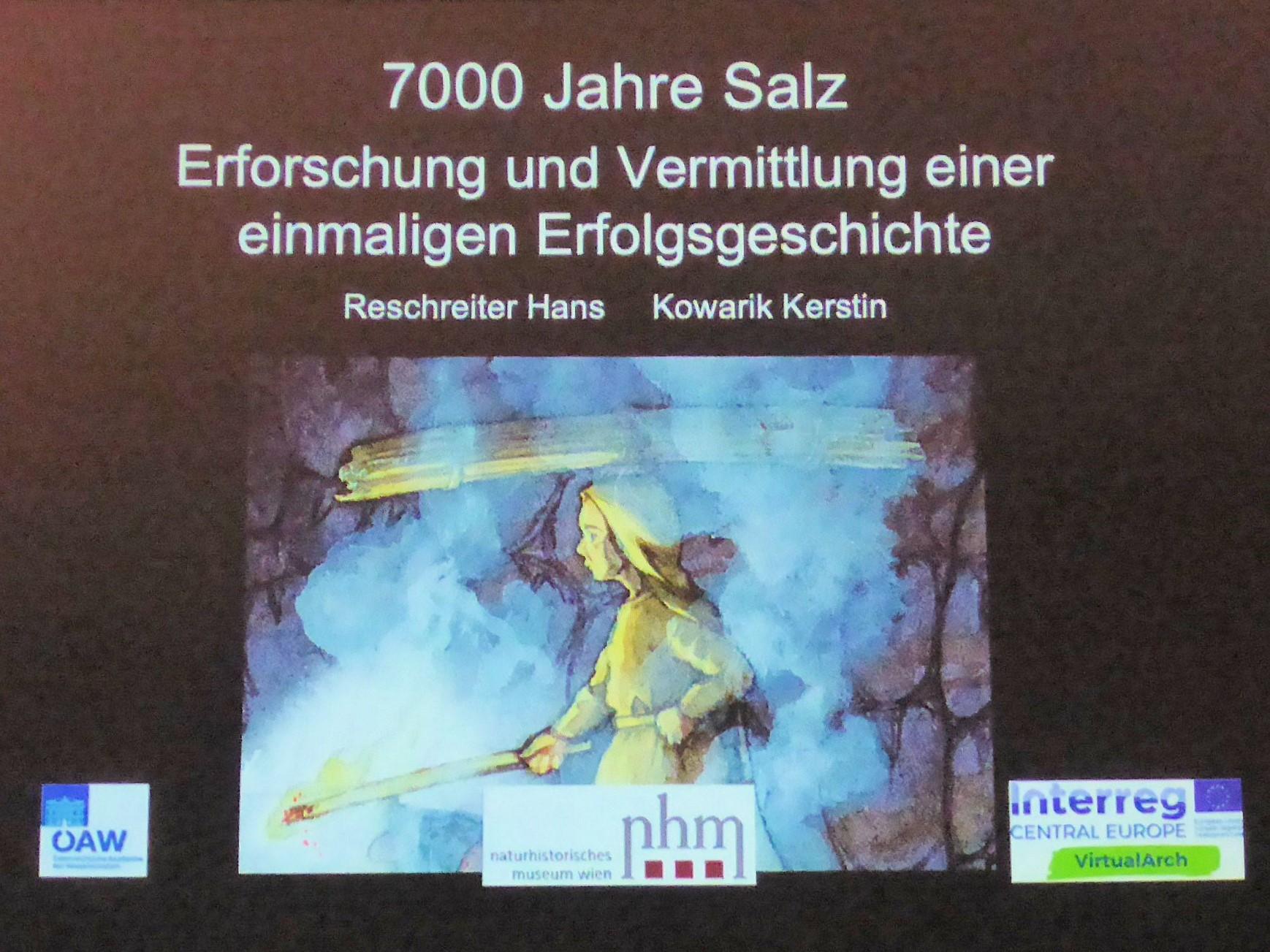Der Titel des Vortrags ist Programm
