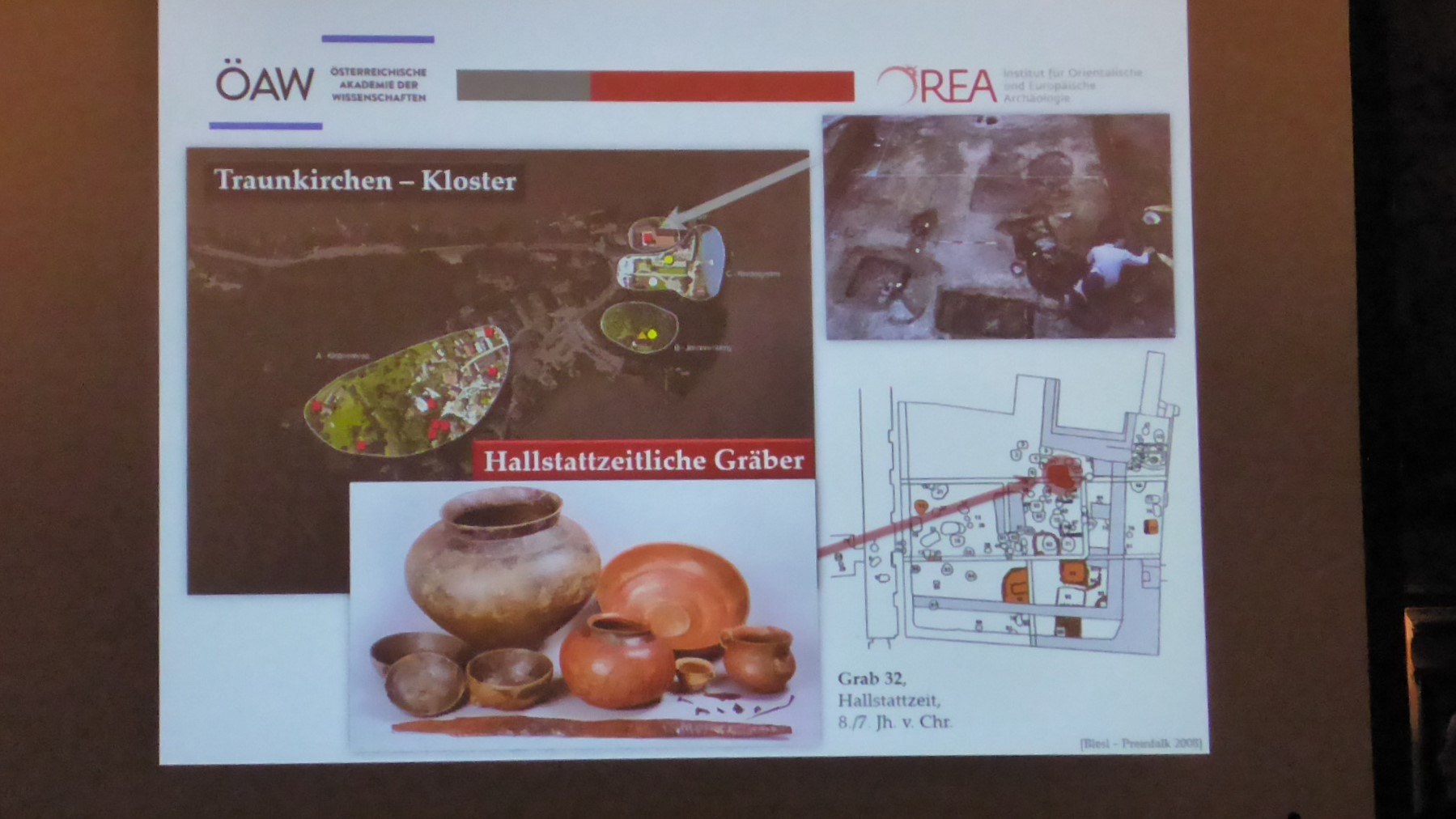 Das Gräberfeld im Kloster bietet Funde aus der Hallstattzeit... ©Norbert Leutner