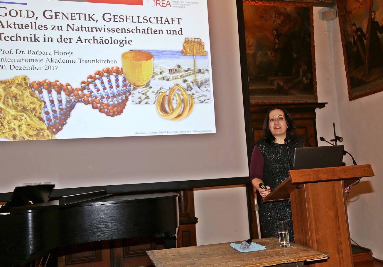 Fr. Prof. Barbara Horejs ©IAK Traunkirchen