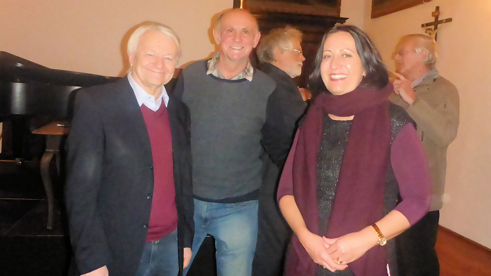 Manfred Schindlbauer, Norbert Leutner, Barbara Horejs ©Norbert Leutner