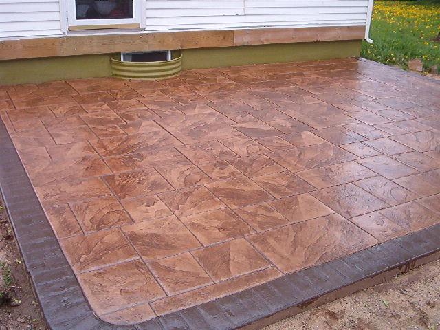 Pavimento impreso hormigon impreso toledo pavimentos de for Suelo cemento impreso