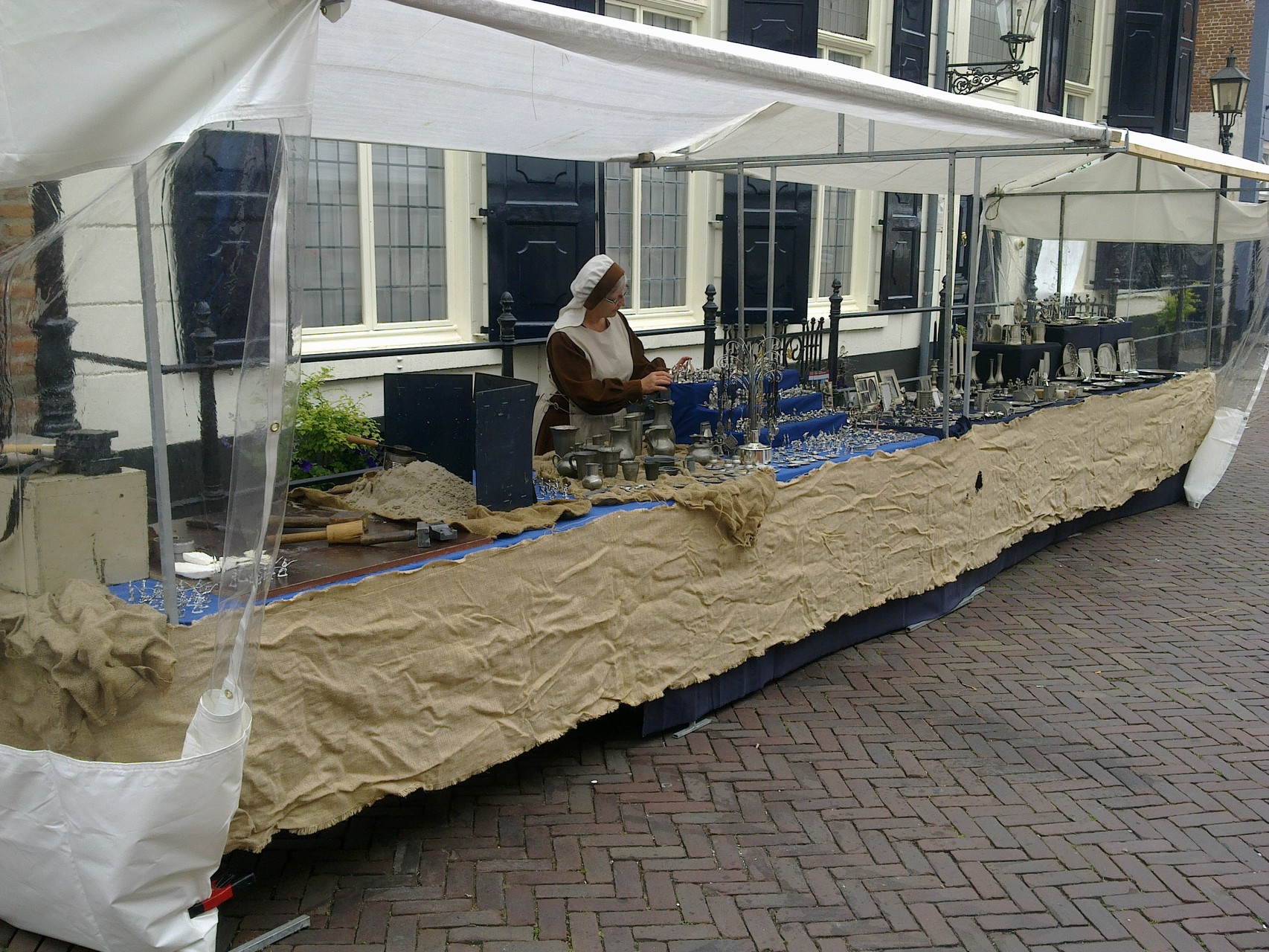 Markt middeleeuwse aankleding (Doesburg 2015)