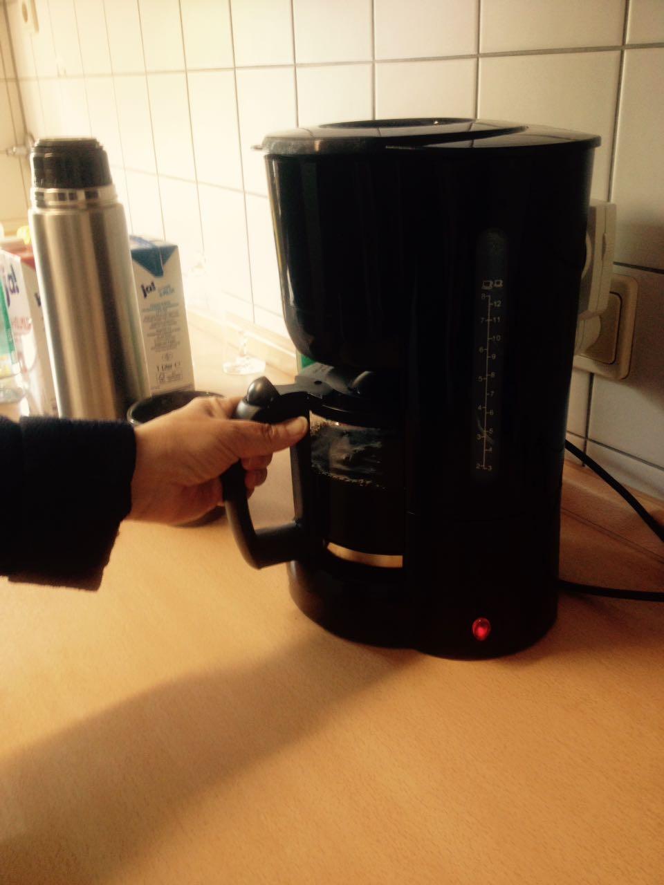 Puuuh!! Endlich die wohlverdiente Kaffeepause.