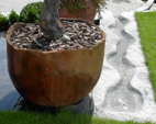 Wasserrinne aus Granit in Hinwil