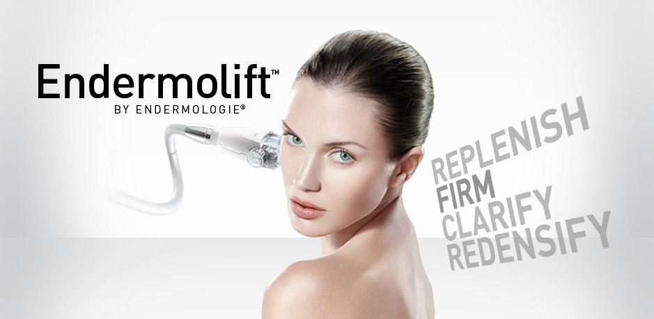 Endermologie-Behandlung im Gesicht