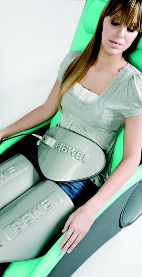 Lipomassage-Anwendung auf der Massageliege