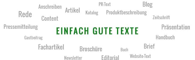 Kurtz Lektorat Leipzig Textsorten