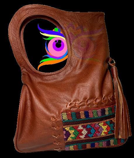 Leder Damentasche
