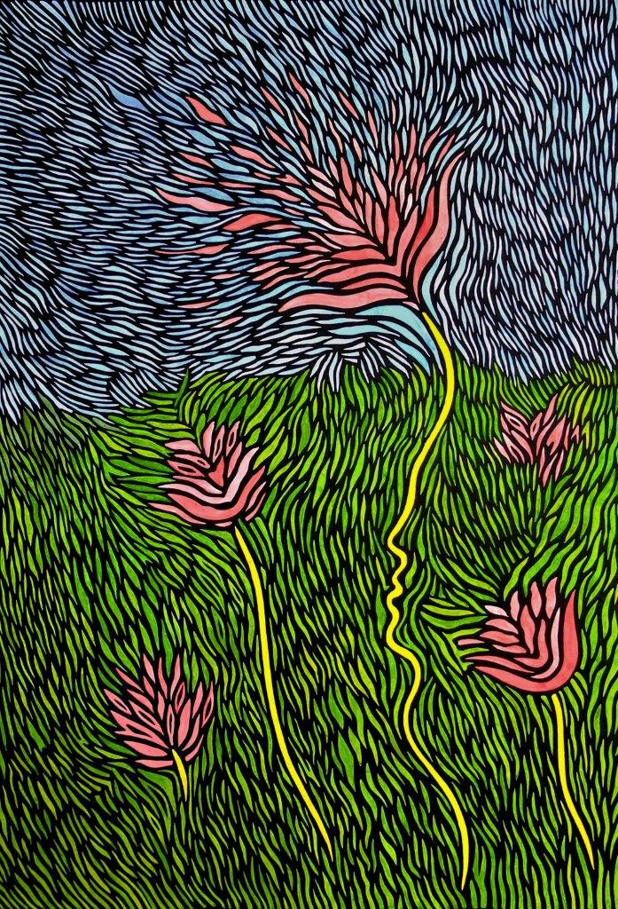 Blüte des Lebens | Alexander Bogdanovski | Mischtechnik