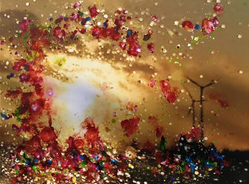2020 | Rita Dahlem | Foto auf Leinwand mit Aerocolor
