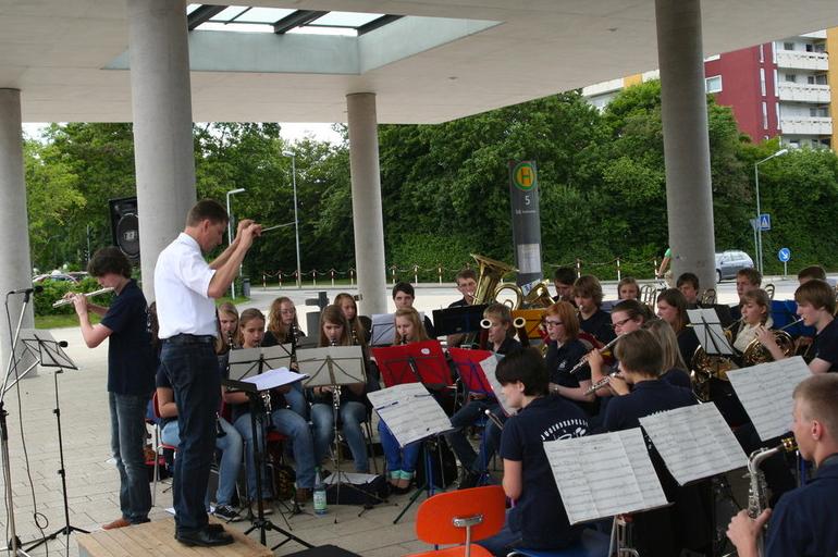 Openair Konzert JUKA Postplatz