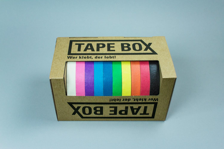 TAPE BOX Für Tape Art
