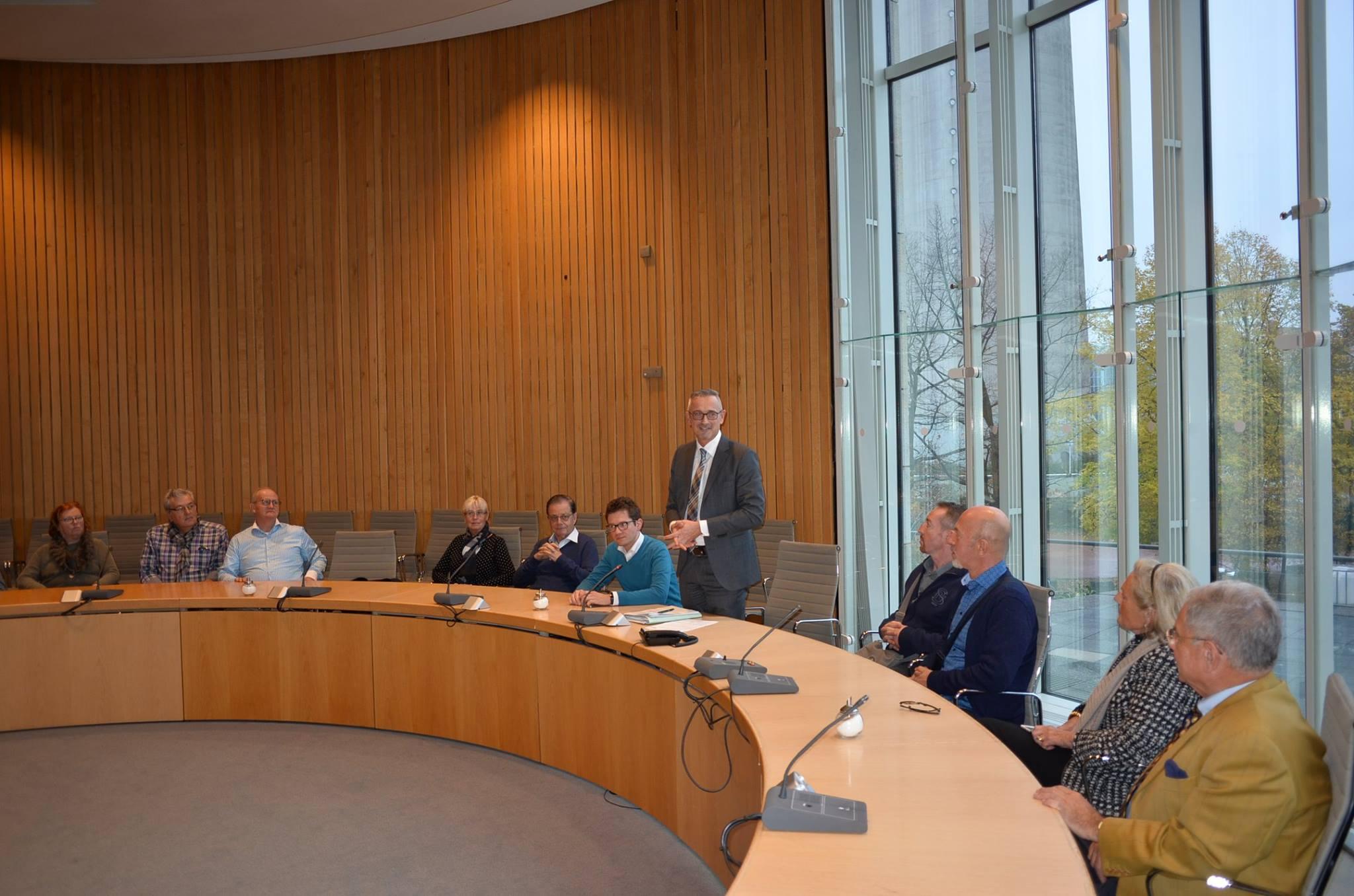 Diskussion mit Gästen im Landtag