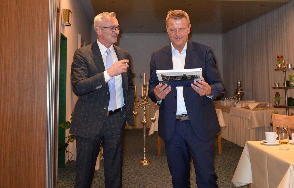 Fraktionschef Christof Rasche MdL zu Besuch in Stolberg