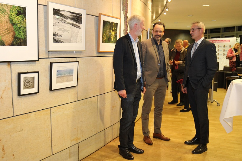 Eröffnung Kunstausstellung im Landtags-Foyer