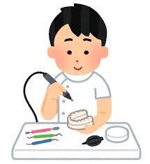 歯科技工士のイメージ図