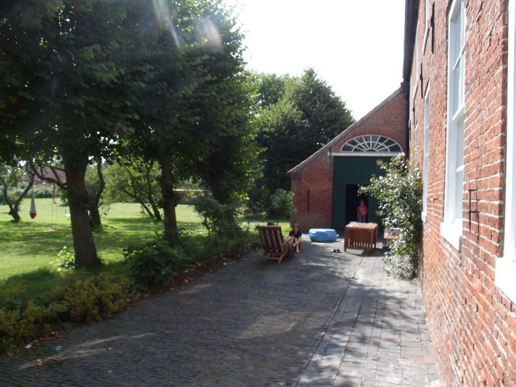 Ein Blick in die alte Einfahrt
