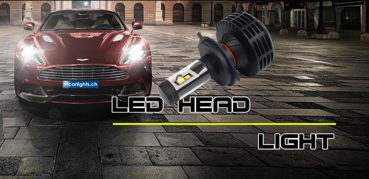 LED Umrüst Kit H1 H3 H4 H7 H8 H11 Hb3 HB4 H13 für Auto Töff und LKW