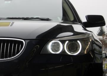 bmw angel eyes led e39 e60 philips led f rs auto. Black Bedroom Furniture Sets. Home Design Ideas
