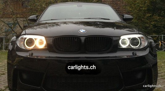BMW 1er LED ANGEL EYES UNTERSCHIED