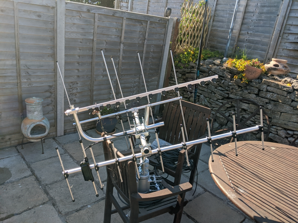 AMSAT antenna array