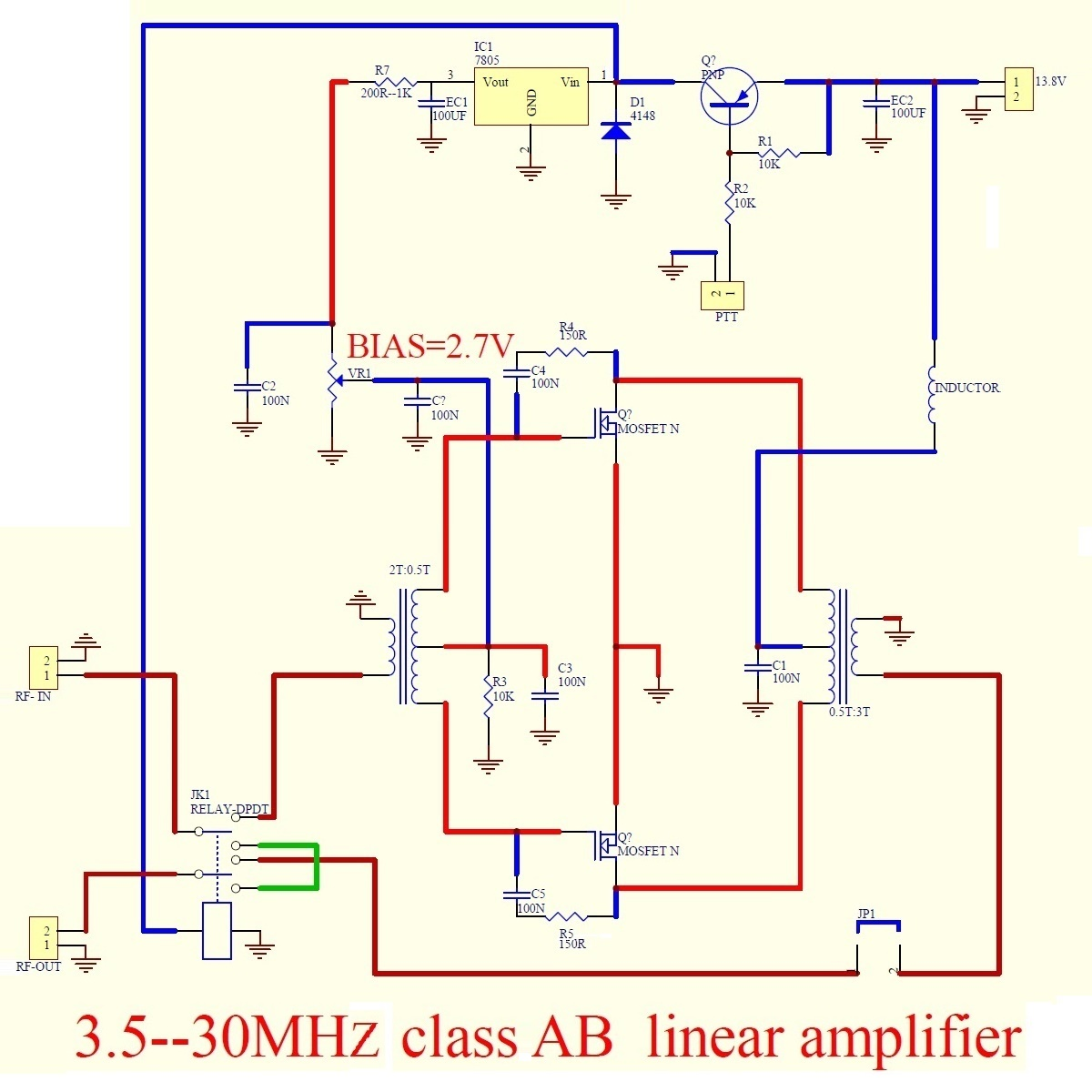 Make a 100 Watt linear amplifier from a kit - Amateur radio tips and