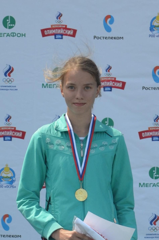 Демьяненко Алина, призер и победитель Всероссийских соревнований, Сибирского федерального округа, Республики Бурятия