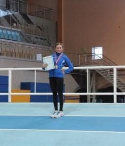 Ксенофонтова Анна кандидат в мастера спорта, член сборной России по легкой атлетике