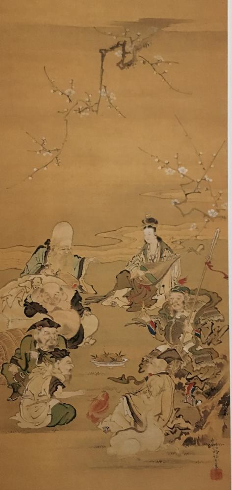 七福神 (東松山市・石川家蔵) Seven Dieties of Fortune