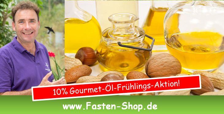 10% Gourmet-Öle-Frühlings-Aktion