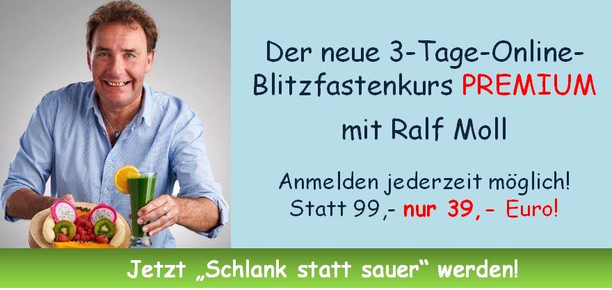 3-TAGE-ONLINE-BLITZFASTEN PREMIUM mit Ralf Moll Fastensuppen