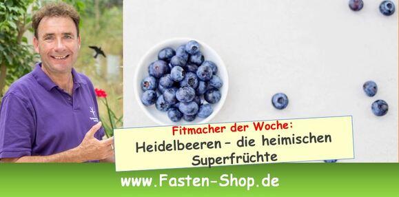 Fitmacher der Woche: Heidelbeeren – die heimischen Superfrüchte