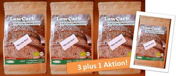 Auf Abnehmtour mit Low-Carb: Aktion 3 plus 1!