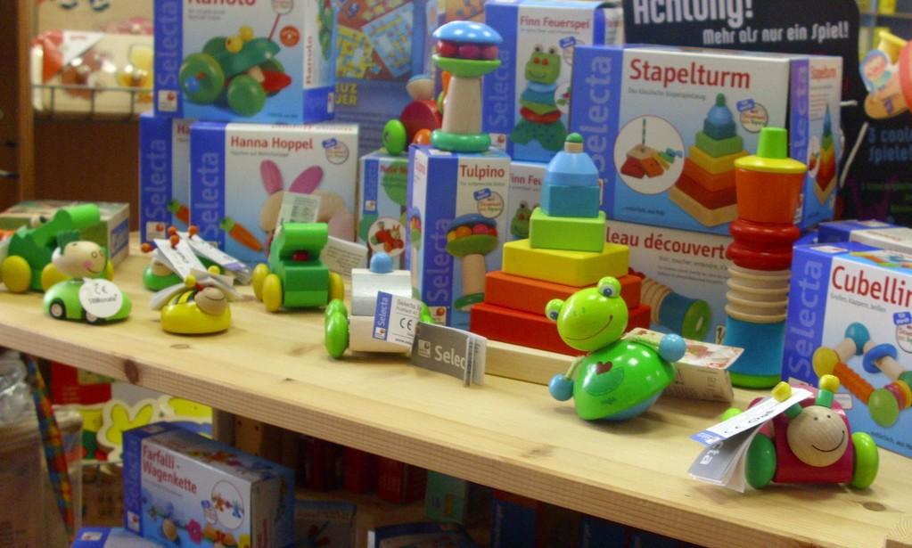 Selecta - Babyspielzeug - Ecke