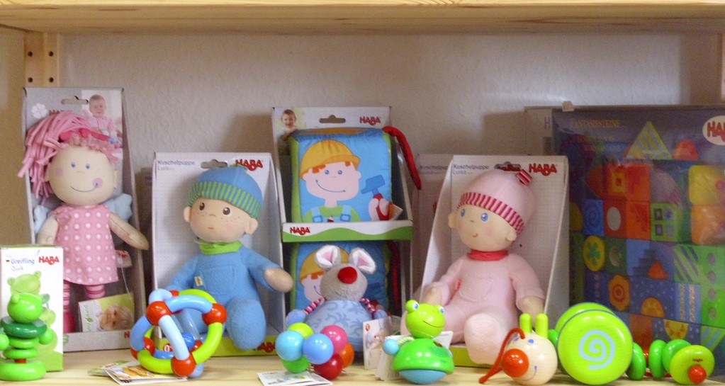 Haba - Babyspielzeug - Ecke