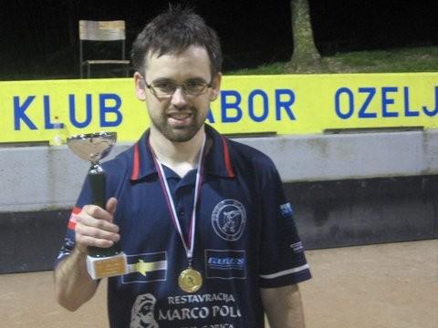 Matej Žvokelj - igra v krog 2013