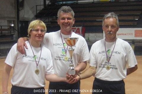 Mitja Petrič, Igor Jakopič in Rajko Peric - dvojice 2013