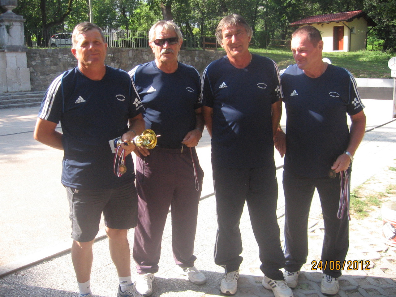 Starejši člani Brda - pokalno prvenstvo